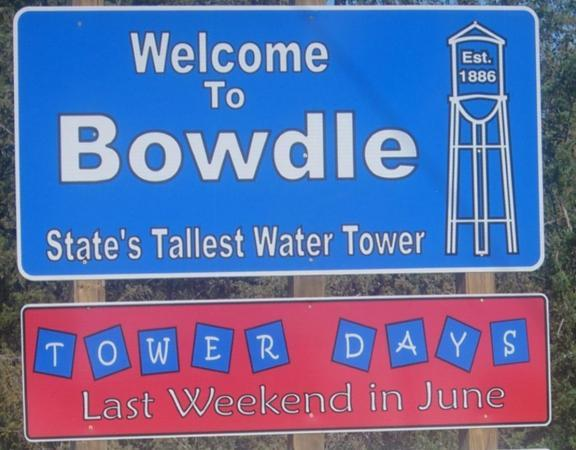 Bowdle Tower Days